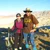 Lisa and Tom G. - they are now summit buddies since they have shared 5 peak summits together